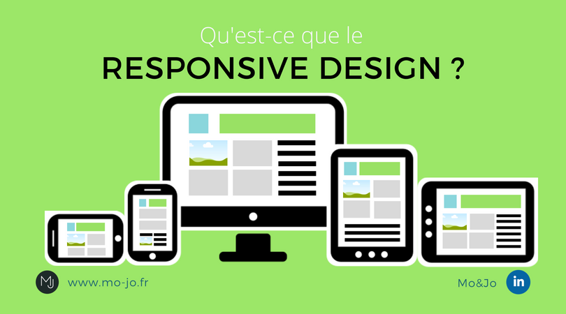 Infographie - Qu'est-ce que le Responsive Design ?
