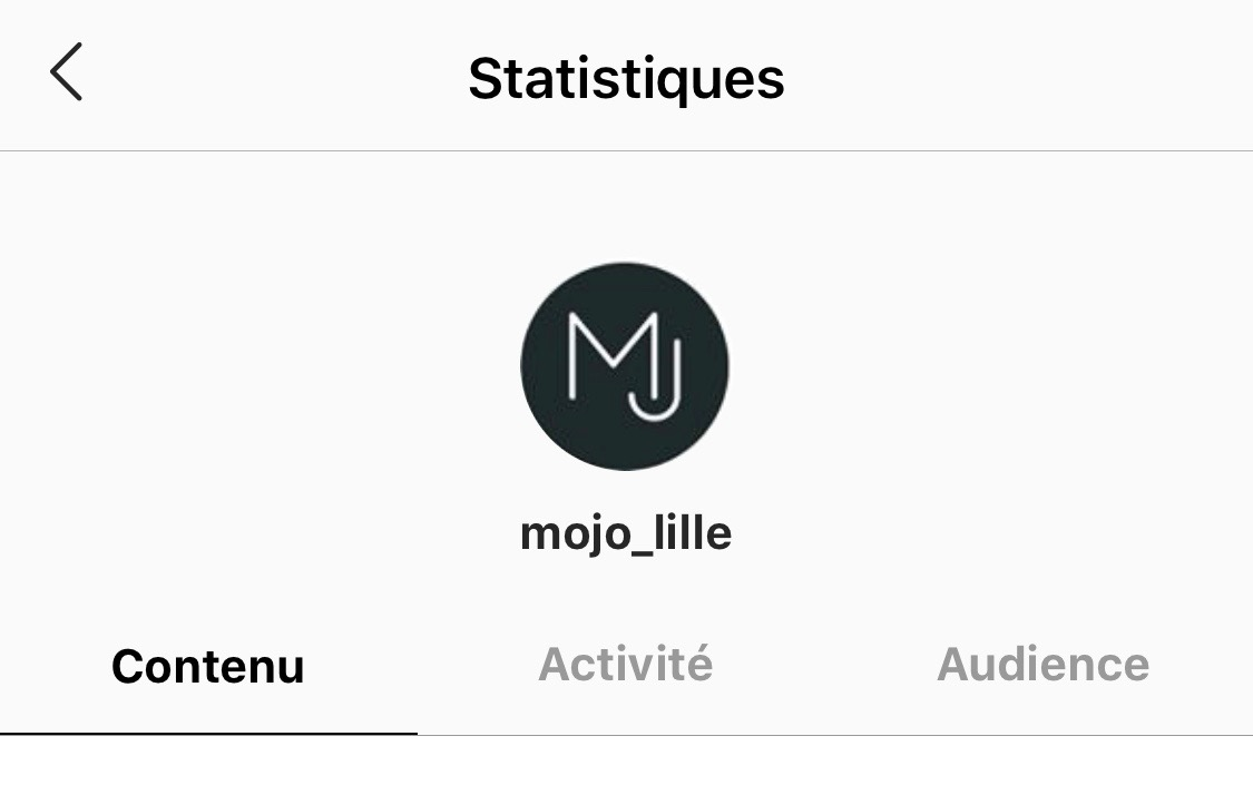 Analytics Instagram