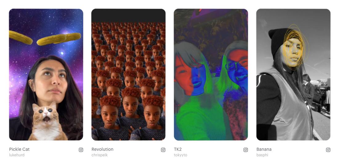 Spark AR : créer des filtres Instagram en réalité augmentée