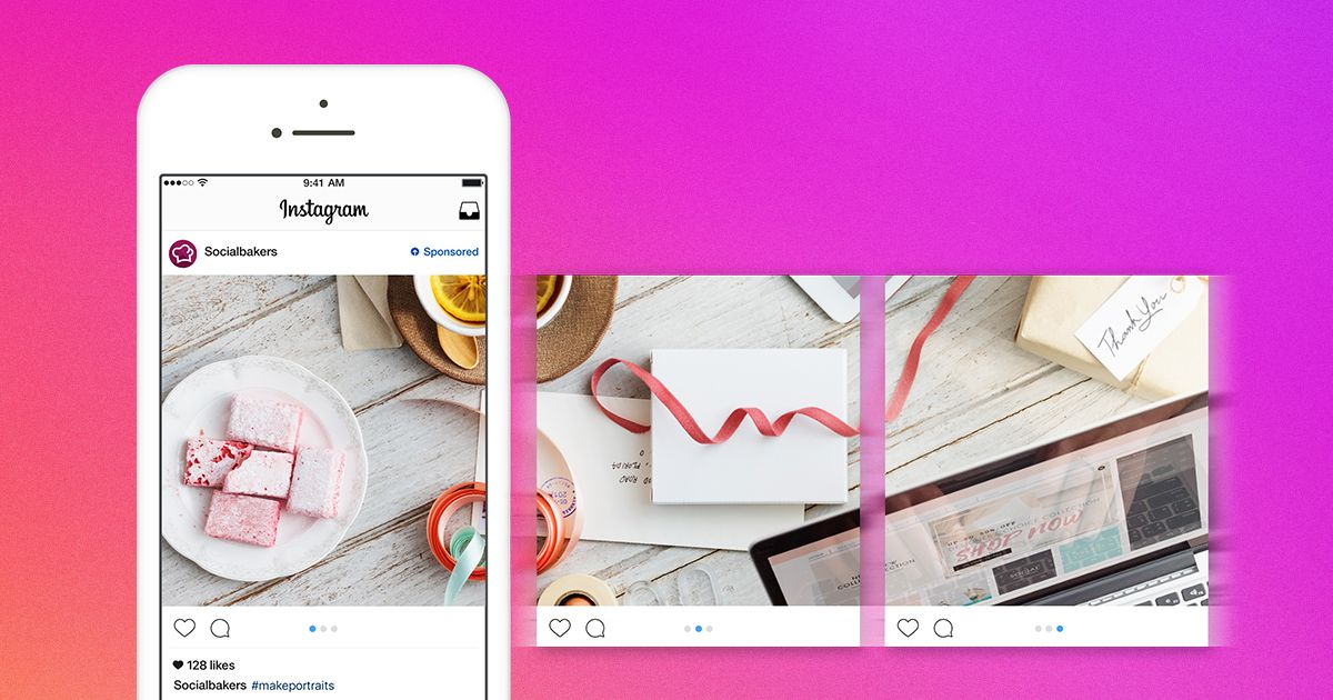 10 photos maximum dans un carrousel d'image sur Instagram